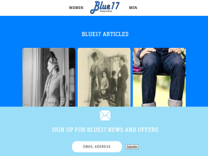 Blue17 vintage blog Mighty Directory Web Directory