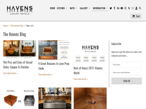 Havens - The Sink Blog Mighty Directory Web Directory