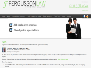 Fergusson Law Legal Advice & News Mighty Directory Web Directory