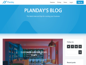 Planday : Mighty Directory Web Directory