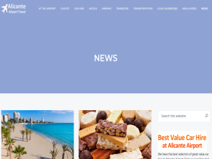 Alicante Airport Travel : Mighty Directory Web Directory