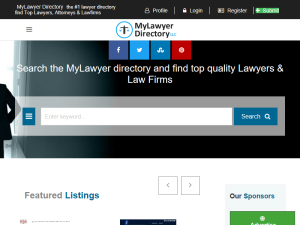 MyLawyer Directory : Mighty Directory Web Directory