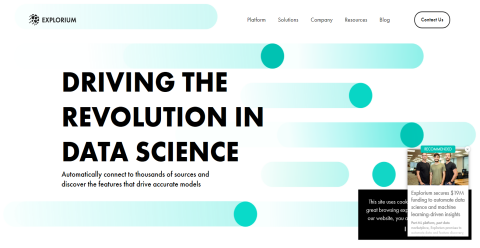 Explorium Data Science Platform Mighty Directory Web Directory