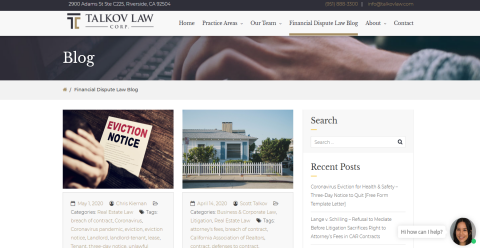 Talkov Law Real Estate & Mighty Directory Web Directory