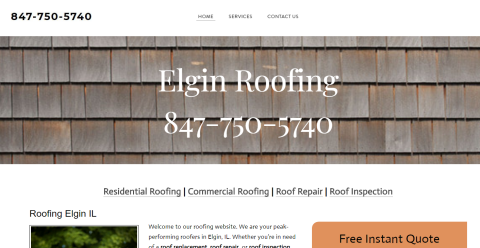 Elgin Roofing Mighty Directory Web Directory
